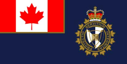 Bandera de l'Agence des services frontaliers du Canada