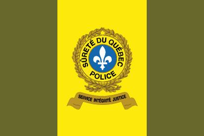 Bandera de la Sûreté du Québec