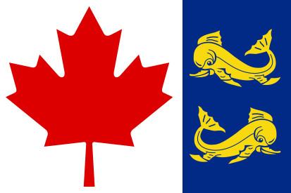 Bandera la Garde côtière canadienne