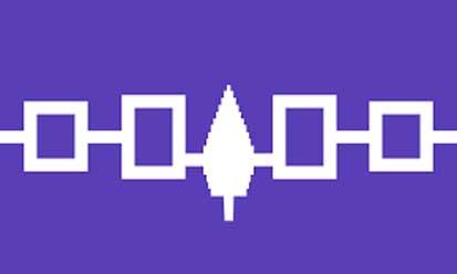 Bandera Confédération iroquoise