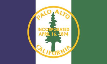 Bandera Palo Alto, California