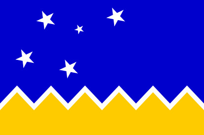 Bandera Región de Magallanes y de la Antártica Chilena