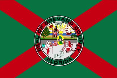 Bandera Condado de Brevard