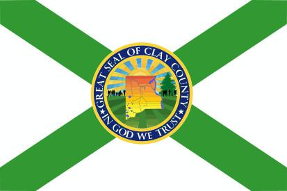 Bandera Condado de Clay