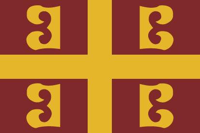 Bandera Imperio Romano de Oriente