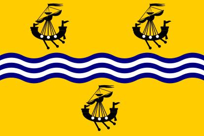 Bandera Islas Hébridas Exteriores