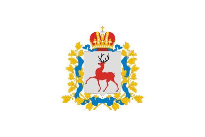 Bandera Óblast de Nizhni Nóvgorod