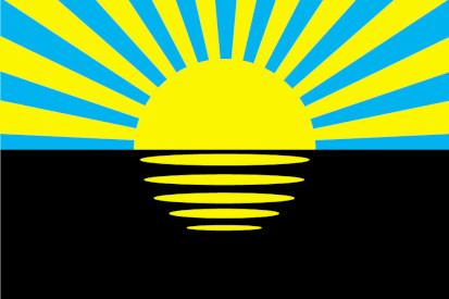 Bandera Óblast de Donetsk