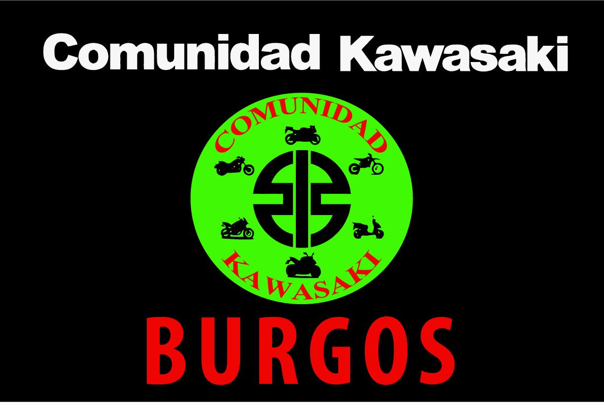 Bandera Comunidad Kawasaki Burgos 2