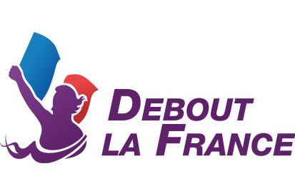 Bandera de pie en Francia