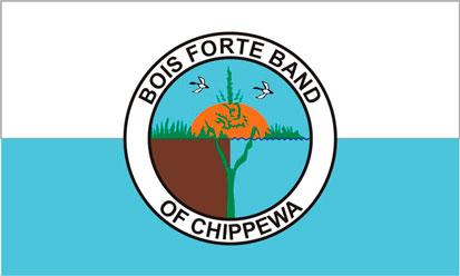 Bandera Bois Forte Chippewa