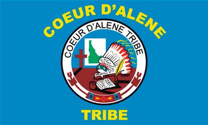 Bandera Coeur d'Alene