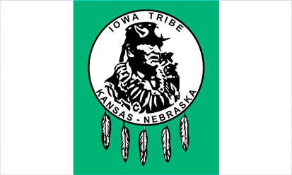 Bandera Iowa tribe of Kansas & Nebrasca