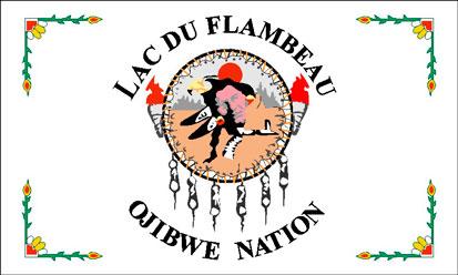 Bandera Lac du Flambeau
