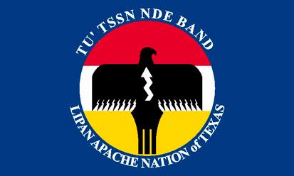 Bandera Lipan Apache Nación  de Texas