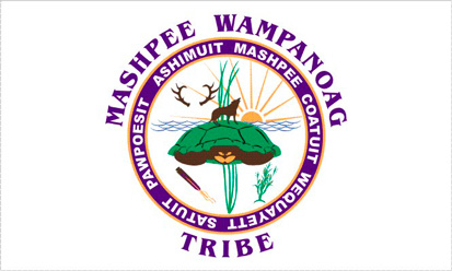 Bandera Mashpee Wampanoag