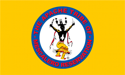 Bandera Mescalero Apache