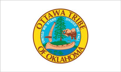 Bandera Tribu de Ottawa
