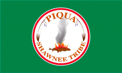 Bandera Piqua Shawnee