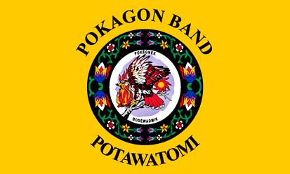 Bandera Pokagon Band Potawatomi