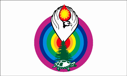 Bandera Powhatan Renape