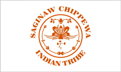 Bandera Saginaw Chippewa
