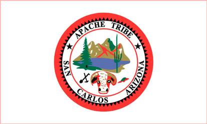 Bandera San Carlos Apache