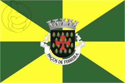 Bandera Paços de Ferreira