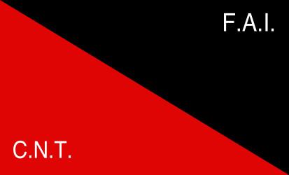 Bandera Federación Anarquista Ibérica