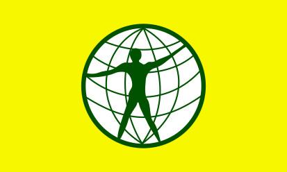 Bandera Ciudadano del mundo