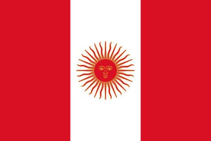 Bandera Perú 1822