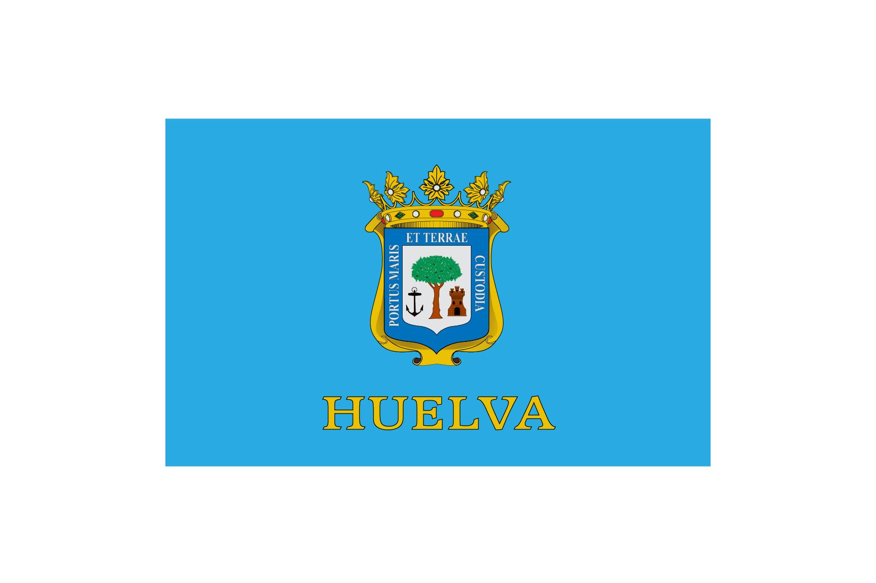 Bandera Huelva Ciudad Personalizada