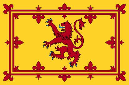 Bandera Estandarte Real de Escocia