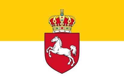 Bandera Reino de Hannover