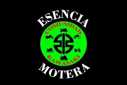 Bandera Kawasaki esencia motera