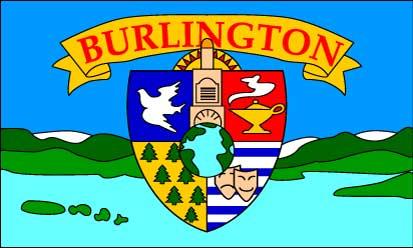 Bandera Burlington (Vermont)