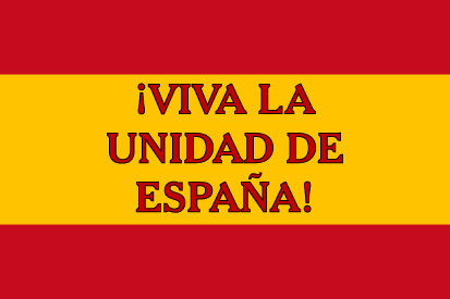 Bandera Unidad de España