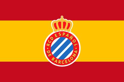 Bandera RCD Español España