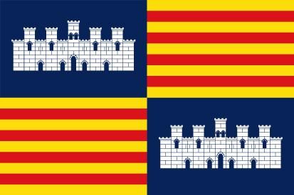 Bandera Reino de Mallorca