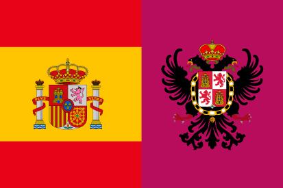 Bandera España Toledo