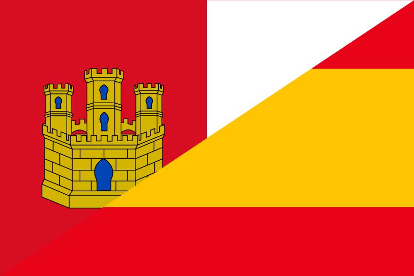 Bandera España-Castilla la Mancha S/E