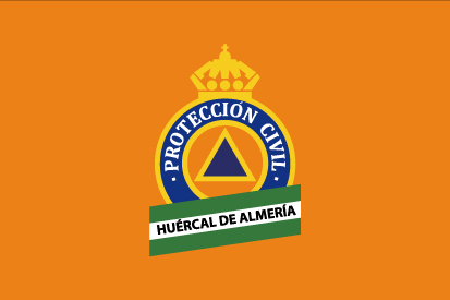 Bandera Protección Civil - Huércal de Almería