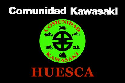 Bandera Comunidad Kawasaki Huesca