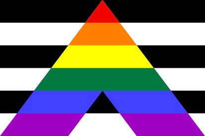 Bandera Heterosexualidad