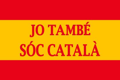 Bandera España personalizada català