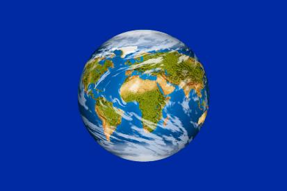 Bandera Planeta tierra