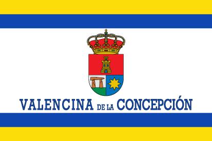 Bandera Valencina de la Concepción personalizada
