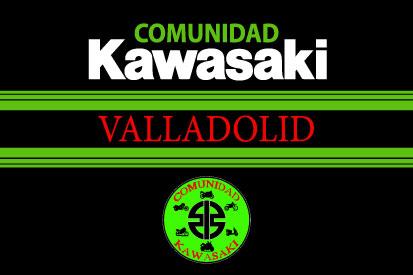 Bandera Comunidad Kawasaki Valladolid 2