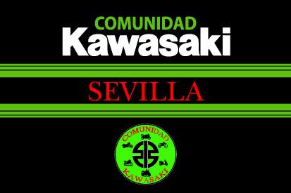 Bandera Comunidad Kawasaki Sevilla 2