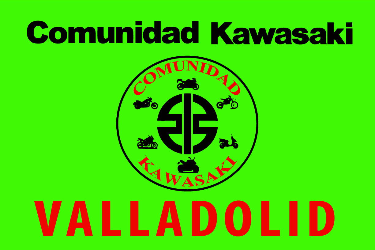 Bandera Comunidad Kawasaki Valladolid 3